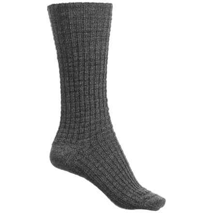 SmartWool Premium Town Crossing Boot Socks - Merino Wool, Mid Calf (For Women) in Medium Gray Heather - Closeouts