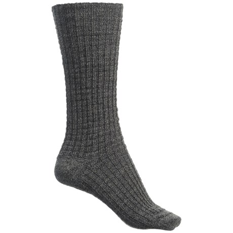 SmartWool Premium Town Crossing Boot Socks - Merino Wool, Mid Calf (For Women) in Medium Gray Heather