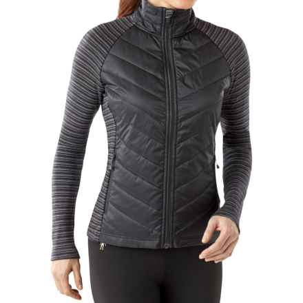 SmartWool Propulsion 60 Jacket - Merino Wool (For Women) in Black - Closeouts