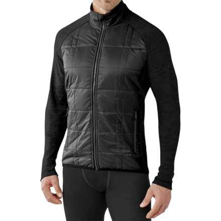 SmartWool Propulsion 60 Jacket - Midweight, Merino Wool (For Men) in Black/Black - Closeouts