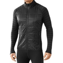 SmartWool Propulsion 60 Jacket - Midweight, Merino Wool (For Men) in Black - Closeouts