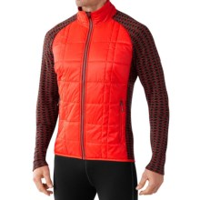 SmartWool Propulsion 60 Jacket - Midweight, Merino Wool (For Men) in Bright Orange - Closeouts