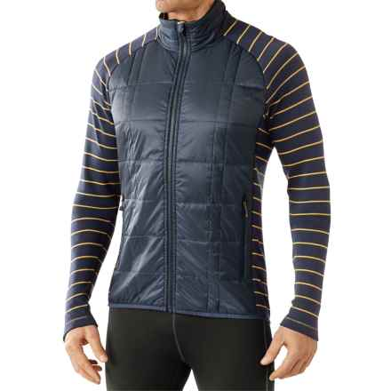 SmartWool Propulsion 60 Jacket - Midweight, Merino Wool (For Men) in Deep Navy - Closeouts