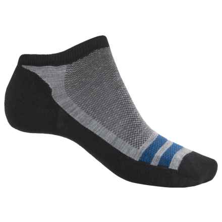 SmartWool Quick Fire Micro Socks - Merino Wool, Below the Ankle (For Men) in Black - Closeouts