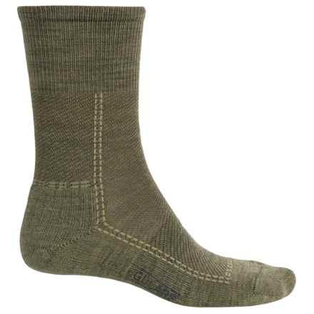 SmartWool Relaxed Twill Socks - Merino Wool, Crew (For Men) in Dark Denim - 2nds