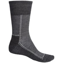 SmartWool Relaxed Twill Socks - Merino Wool, Crew (For Men) in Stone Wash - 2nds