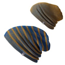 SmartWool Reversible Slouch Beanie - Merino Wool (For Men and Women) in Bright Blue - Closeouts
