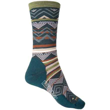 SmartWool Ripple Creek Socks - Merino Wool, Crew (For Women) in Lochness Heather - 2nds