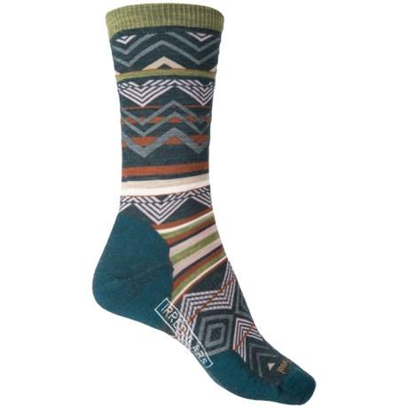 SmartWool Ripple Creek Socks - Merino Wool, Crew (For Women) in Lochness Heather