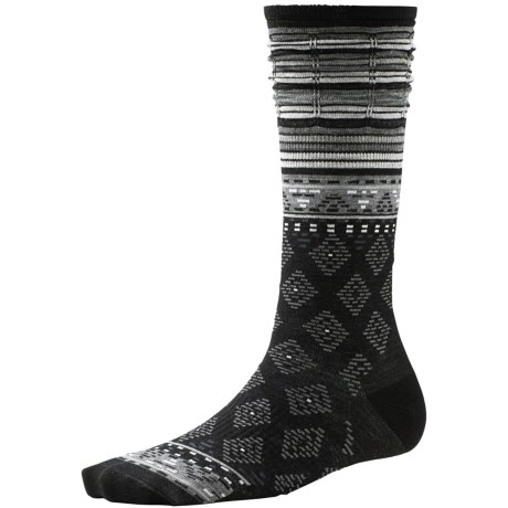 SmartWool Rocking Rhombus Socks - Merino Wool, Mid Calf (For Women)