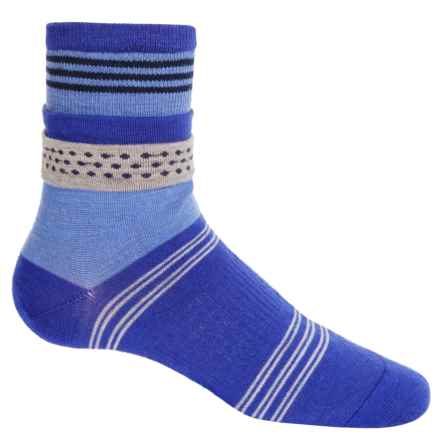 SmartWool Roll Top Dot Socks - Merino Wool, Ankle (For Women) in Liberty - 2nds