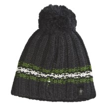 SmartWool Roundabout Hat - Merino Wool (For Kids) in Charcoal Heather - Closeouts