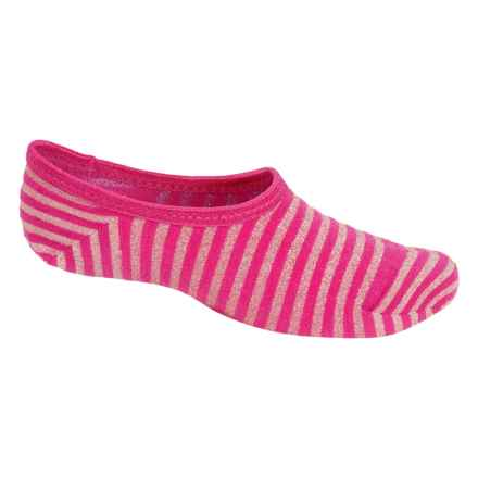 SmartWool Sassy No-Show Socks - Merino Wool, Below the Ankle (For Little and Big Girls) in Bright Pink - Closeouts