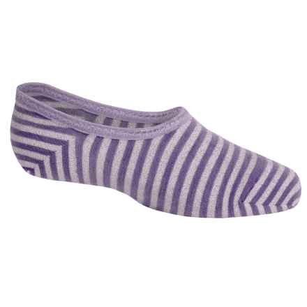 SmartWool Sassy No-Show Socks - Merino Wool, Below the Ankle (For Little and Big Girls) in Desert Purple Heather - Closeouts