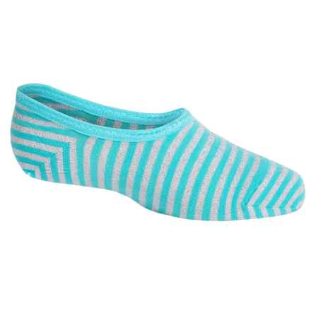 SmartWool Sassy No-Show Socks - Merino Wool, Below the Ankle (For Little and Big Girls) in Light Capri - Closeouts