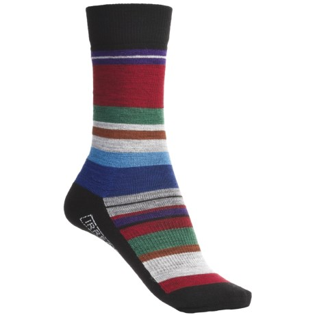 SmartWool Saturn Socks - Merino Wool (For Women) in Black/Multi