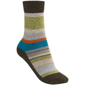 SmartWool Saturn Socks - Merino Wool (For Women) in Chestnut Heather