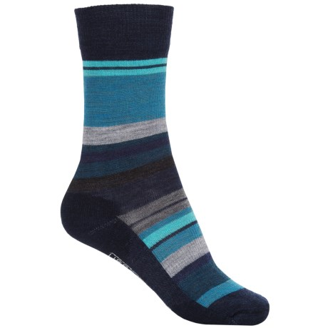 SmartWool Saturn Socks - Merino Wool (For Women) in Deep Navy/Deep Sea