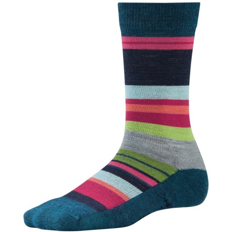 SmartWool Saturn Socks - Merino Wool (For Women) in Deep Sea Heather