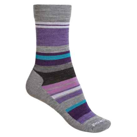 SmartWool Saturn Socks - Merino Wool (For Women) in Light Grey Heather - 2nds