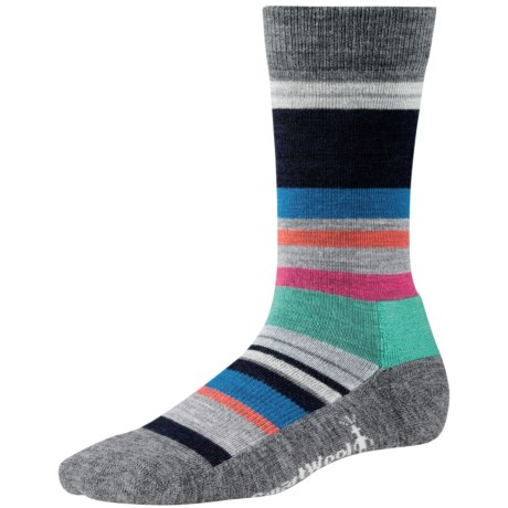 SmartWool Saturn Socks - Merino Wool (For Women) in Medium Grey Heather