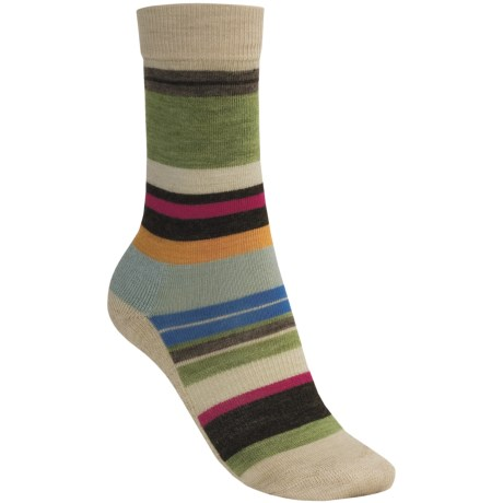 SmartWool Saturn Socks - Merino Wool (For Women) in Natural Heather