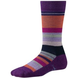 SmartWool Saturn Socks - Merino Wool (For Women) in Purple Dahli