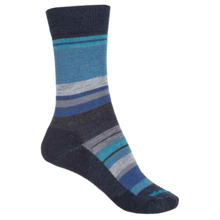 SmartWool Saturnsphere Socks - Merino Wool, Crew (For Women) in Deep Navy - Closeouts