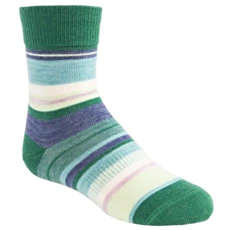SmartWool Saturnsphere Socks - Merino Wool (For Kids) in Grasshopper