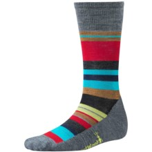 SmartWool Saturnsphere Socks - Merino Wool, Over-the-Calf (For Men and Women) in Medium Gray - 2nds