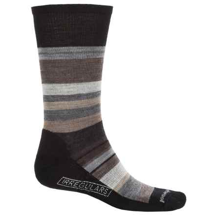 SmartWool Saturnsphere Socks - Merino Wool, Over-the-Calf (For Men) in Black/White - 2nds