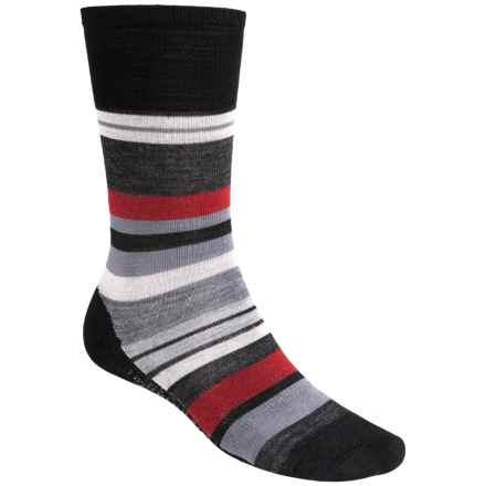 SmartWool Saturnsphere Socks - Merino Wool, Over-the-Calf (For Men) in Black - 2nds