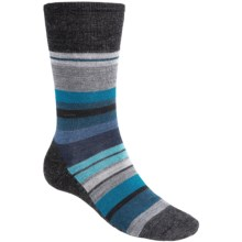 SmartWool Saturnsphere Socks - Merino Wool, Over-the-Calf (For Men) in Charcoal Heather - 2nds