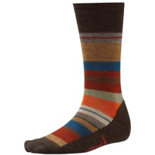 SmartWool Saturnsphere Socks - Merino Wool, Over-the-Calf (For Men) in Chesnut Heather - 2nds
