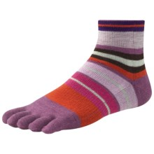 SmartWool Saturnsphere Toe Socks - Merino Wool (For Women) in Violet - 2nds