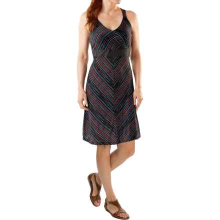 SmartWool Seven Falls Dress - Merino Wool-TENCEL®, Sleeveless (For Women) in Black - Closeouts