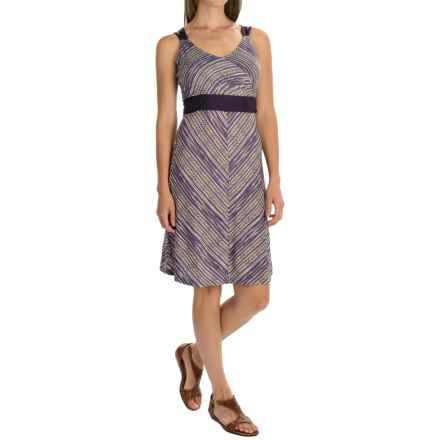 SmartWool Seven Falls Dress - Merino Wool-TENCEL®, Sleeveless (For Women) in Deep Purple - Closeouts