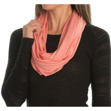 SmartWool Seven Falls Infinity Scarf - Merino Wool-TENCEL® (For Women) in Bright Coral - Closeouts