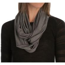 SmartWool Seven Falls Infinity Scarf - Merino Wool-TENCEL® (For Women) in Medium Gray - Closeouts