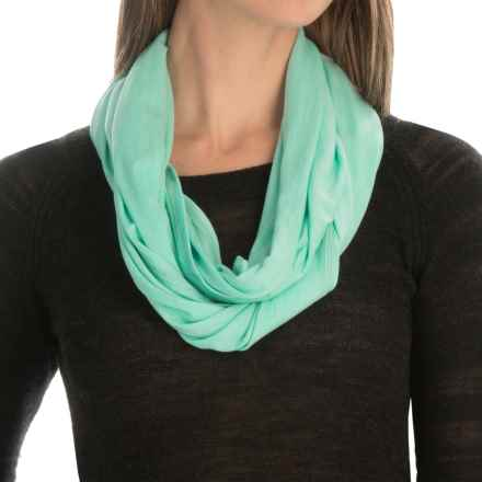 SmartWool Seven Falls Infinity Scarf - Merino Wool-TENCEL® (For Women) in Mint - Closeouts