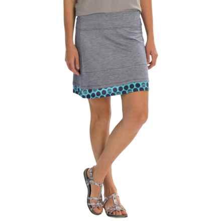SmartWool Seven Falls Skirt - Merino Wool-TENCEL® (For Women) in Ink - Closeouts