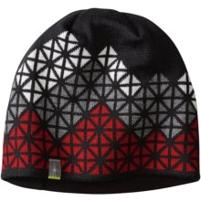 SmartWool Ski Jacquard Beanie - Merino Wool (For Men and Women) in Black - Closeouts