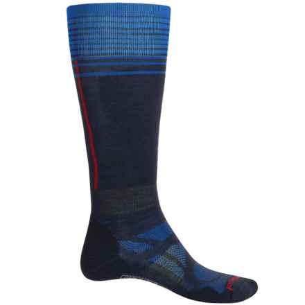 SmartWool Ski Light Socks - Merino Wool, Over the Calf (For Men and Women) in Deep Navy - 2nds