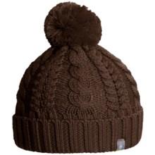 SmartWool Ski Town Beanie - Merino Wool (For Women) in Espresso Heather - Closeouts