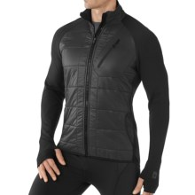 SmartWool SmartLoft Divide Base Layer Top - Midweight, Long Sleeve (For Men) in Black - Closeouts