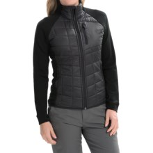 SmartWool SmartLoft Divide Midlayer Jacket - Merino Wool (For Women) in Black - Closeouts