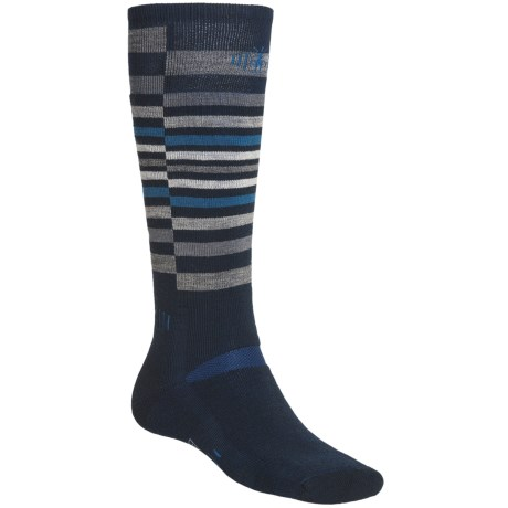 SmartWool Snow Riding Socks - Merino Wool (For Men and Women) in Navy