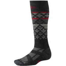 SmartWool Snowboard Ski Socks - Merino Wool, Over the Calf (For Men and Women) in Charcoal - Closeouts