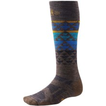 SmartWool Snowboard Ski Socks - Merino Wool, Over the Calf (For Men and Women) in Taupe - Closeouts