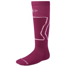 SmartWool Snowboard Socks - Merino Wool (For Kids and Youth) in Berry - 2nds